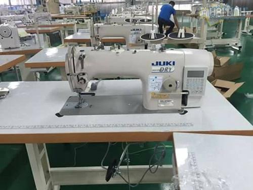 Hệ thống máy may chuyên dụng phục vụ cho may áo khoác gió
