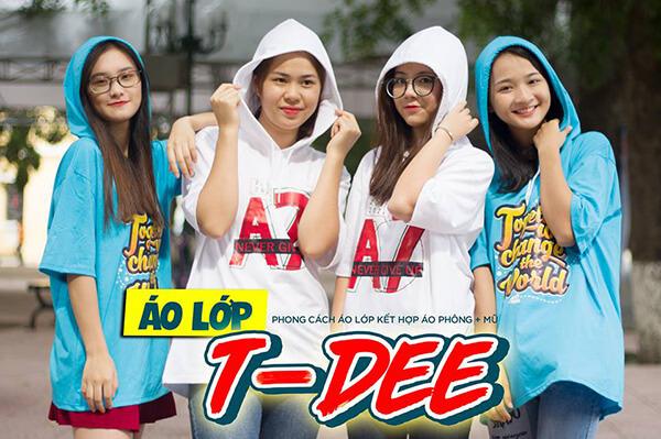 Mẫu áo lớp T-Dee