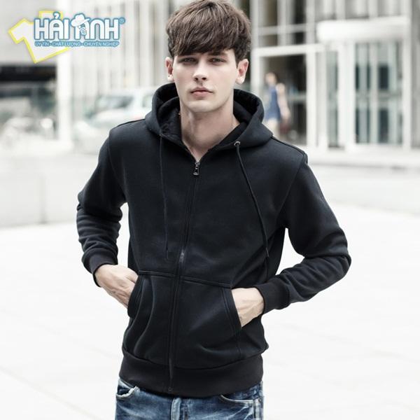 áo hoodie là gì? - Mẫu áo hoodie có khóa