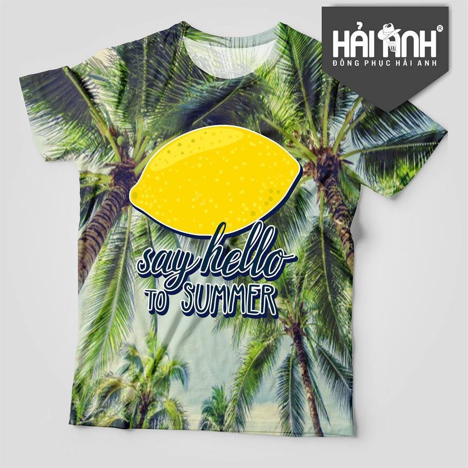 Mẫu áo lớp hoa quả - Say hello to summer