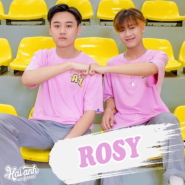 """Mẫu áo lớp oversize màu tím hồng Rosy - """"Bạn thân Thân ai nấy lo"""""""