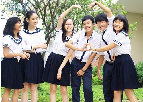 Đồng phục học sinh nữ của một số trường tại Hà Nội