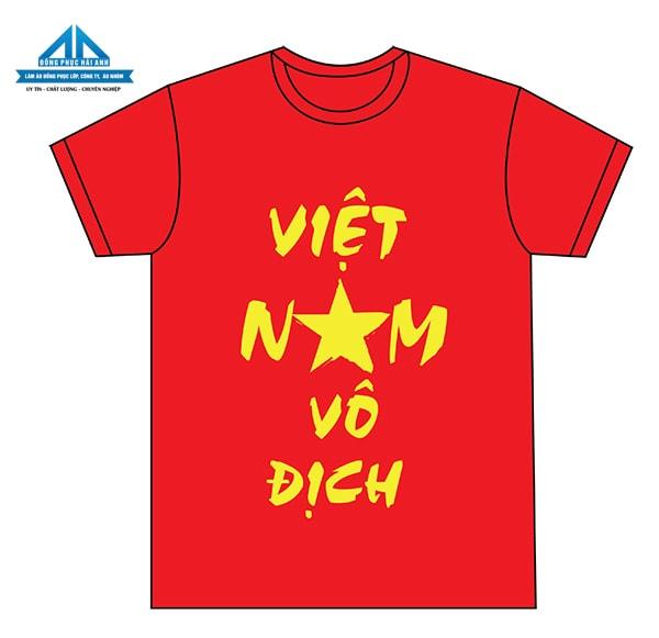 Mẫu áo cờ đỏ sao vàng 2