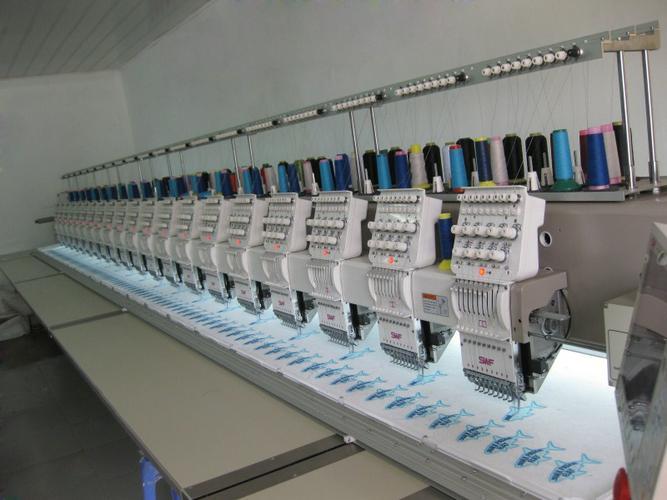 Máy thêu chuyên dụng dùng trong các xưởng may